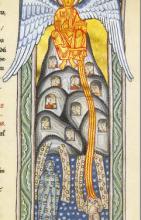 Scivias – Kodex: Miniatura 2: La fuente de luz